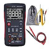 LXGANG lMultímetro digital ZT-X multímetro digital AC DC voltímetro Multímetro RMS real escala automática con Retención de datos NCV de retroiluminación de LCD Pantalla Digital Tester multifuncional