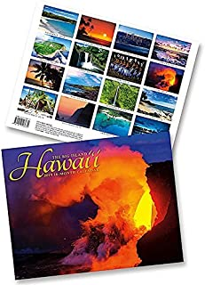 Hawaii the Big Island, 2019 16 Month Trade Calendar, November 2018 - February 2020