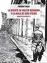 La muerte de Walter Benjamin y la jaula de Ezra Pound: Manifiesto incierto 3 par Pajak