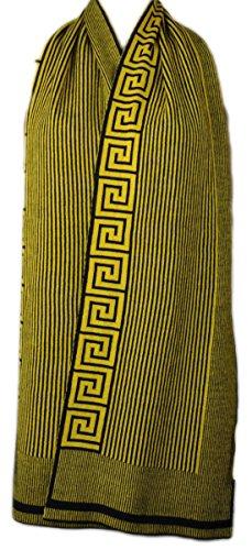 Versace Schal Scarf mit typischem Greca-Muster, 30 x 180cm - SM