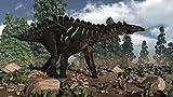 Posterazzi Miragaia dinosaur walking near Wollemi pines Poster Print, (37 x 20)