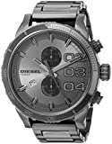 Diesel DZ4314 Double Down Series Analog Display,Analog Quartz Grey  Men's Watch.