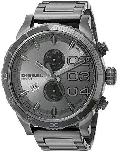 Diesel Orologio Cronografo Quarzo Uomo con Cinturino in Acciaio Inox DZ4314