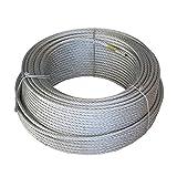 Wurko 12012008 Cable trenzado, 4 mm