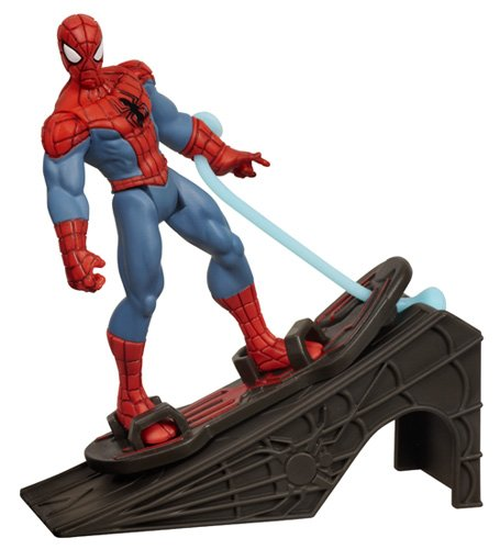 Spider-Man - A1528E270 - Figurine - Spider Man with Hover Board and R