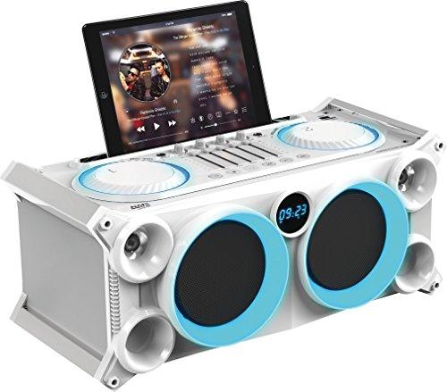 Ibiza 15-2531 Transportable Audio Sterepo Anlage mit Batterie, Bluetooth, USB, SD und FM Tuner
