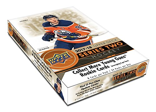 Upper Deck 2017-18 Series 2 Hockey Hobby Box