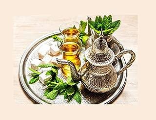 100+ ORGANICALLY Grown Moroccan Mint Herb Seeds Heirloom Non-GMO Fragrant Rare! from USA Mentha spicata VAR. crispa