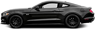 Dawn Enterprises FE-Mustang Finished End Body Side Molding Compatible with Ford Mustang - Magnetic Metallic (J7)