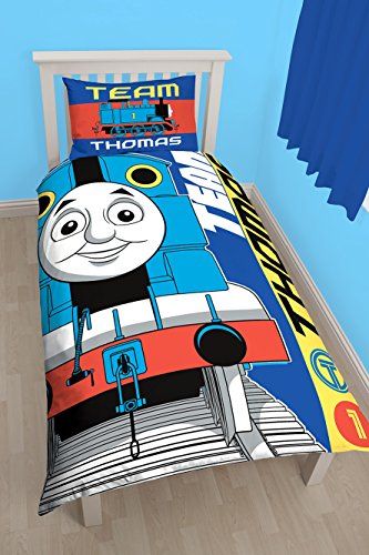 Thomas the Engine - Set copripiumino singolo 'Team', motivo grande