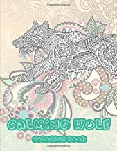 Calming Wolf - Coloring Book ????