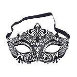 Maskerade Masker Kant Venetiaanse Maskers Zwart Masker Bal Maskerade Halloweenfeest (K)