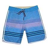 MLKUP Estiramiento De Secado Rápido Fitness Culturismo Impresión A La Deriva Playa Surf Pantalones Cortos...