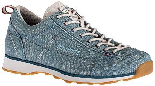 Dolomite Damen Zapato Cinquantaquattro Lh Canvas Ws Sneaker, Turquoise Blue, 41 1/3 EU