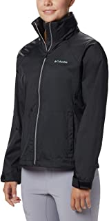 Columbia Switchback III Chamarra Impermeable Ajustable para Mujer