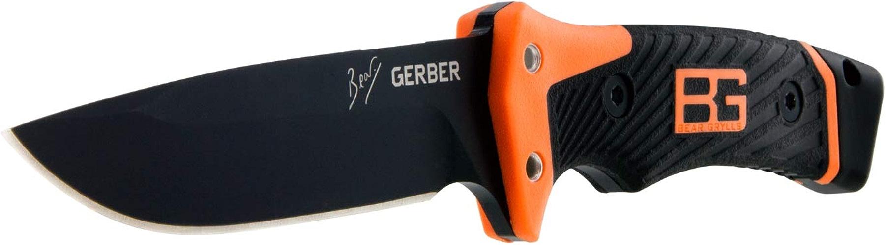 Gerber Bear Grylls Ultimate Pro Couteau à lame fixe Orange gris