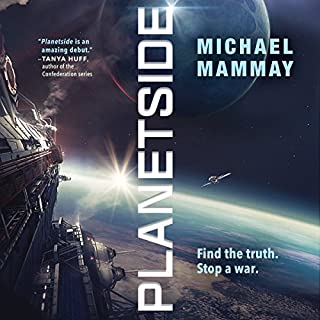 Planetside audiobook cover art
