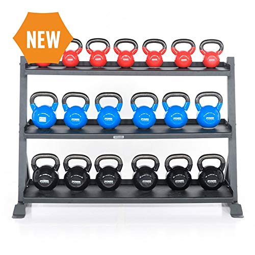 Power Systems Kettlebell Storage Rack from The Granite Series - Durable and Budget Friendly