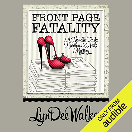 Front Page Fatality audiobook cover art