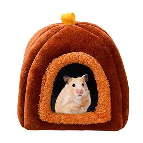 Cama de Conejillo de Indias, Invierno Caliente Ardilla Erizo Chinchilla Casa Jaula Nido para Ratas Conejo Hurón Chinchilla Conejo u Otros Animales Pequeños