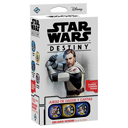 Fantasy Flight Games Star Wars Destiny Caja de inicio: Obi-Wan Kenobi (Asmodee SWD15ES)