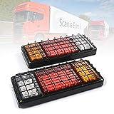 Feu arrière de voiture, camion, remorque, camion, caravane, camionnette, clignotant, troisième feu de freinage, 12 V, 72 LED