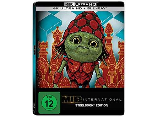 Men in Black: International 4K Steelbook, Blu-ray, 4K UHD + 2D Blu-ray, Uncut, Regionfree