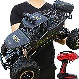 Batop Voiture Télécommandée, 1:12 Double Moteur Telecommandé Buggy 2.4Ghz 4WD RC Camion Monster Truck, RC Crawler Racing Jouet...