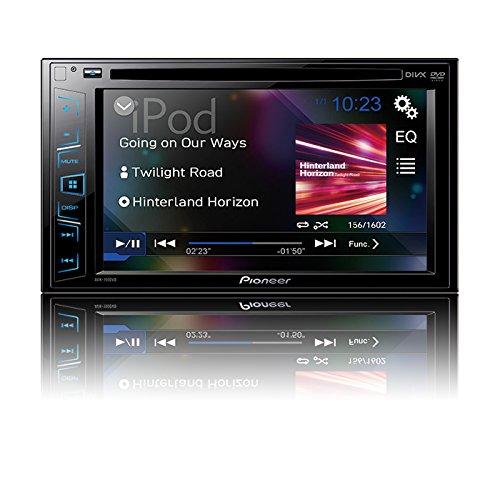 Pioneer AVH-190DVD Pantalla Táctil de 6.2' CD/DVD, sintonizador con USB, Negro
