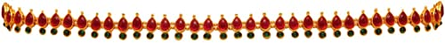 Preyans From Jaipur Mart Kamarband Belly-Chain Tagdi for Women (Golden) (KMBND368MG)