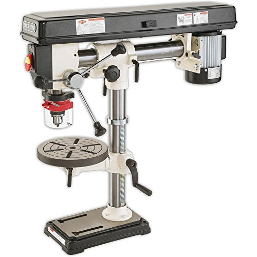 Product Image of the SHOP FOX W1669 1/2-Horsepower Benchtop Radial Drill Press