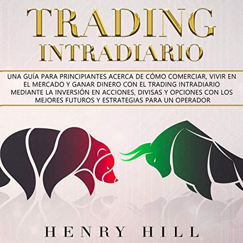Diseño de la portada del título Trading Intradiario
