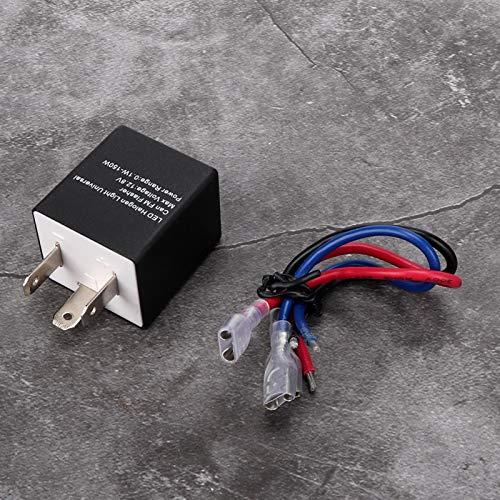 Emoshayoga LED de relé de frecuencia Intermitente para Coche