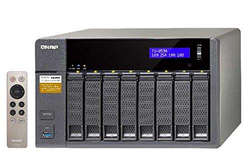 Qnap TS-853A 16GB ram 8-Bay NAS 16TB Bundle mit 4X 4TB HGST HDN724040ALE640