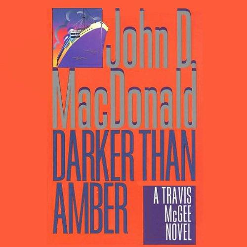 Darker Than Amber audiobook cover art