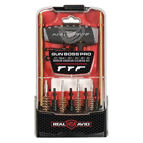 Real Avid Gun Boss Pro Handgun - .45, .44, .40, .357, .38, 9MM, .22 caliber handgun cleaning kit