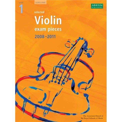 ABRSM Violin Examination Pieces: Grade 1 (2008-2011). Für Violine, Klavierbegleitung