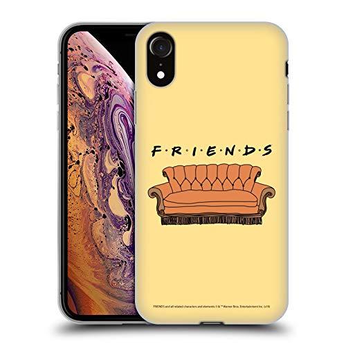 Head Case Designs Licenciado Oficialmente Friends TV Show Sofá Icónico Carcasa de Gel de Silicona Compatible con Apple iPhone XR
