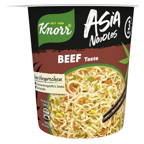Knorr Asia Noodles Beef Taste, 1 Portion ( 1 x 65g )