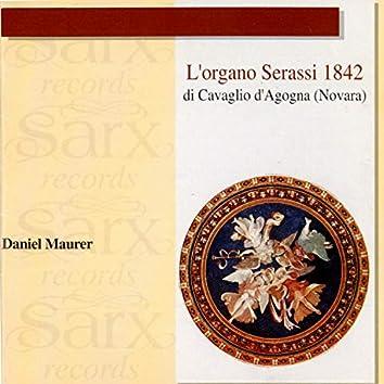 L'organo di Serassi 1842 di Cavaglio d'Agogna (Novara)
