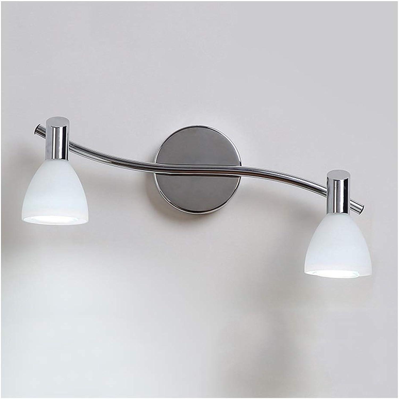 badezimmerlampe Spiegelleuchte LED Badezimmer Schminktisch Wandleuchte Anti-fog Spiegel Lampe Spiegel Schrank Licht 2 Kopf   3 Kopf Lichtquelle (gre   37cm 2 heads)