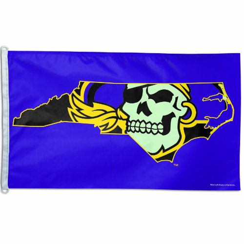 NCAA East Carolina Pirates 3-by-5 foot Flag