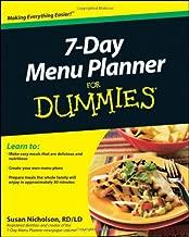 Best 7 day menu planner for dummies Reviews