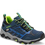 Merrell Ml-b Moab Fst Low Waterpoof Zapatillas de senderismo Niños, Azul (Navy/blue), 38 EU (6 UK)