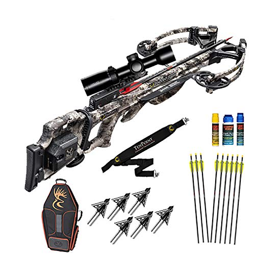TenPoint Titan M1 Crossbow Custom Ultimate Package ACUdraw Cocking Device and Hawke XB-1 Upgraded Scope