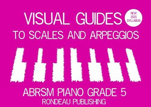 Visual Guides to Scales and Arpeggios ABRSM Piano Grade 5 New 2021 Syllabus (English Edition)