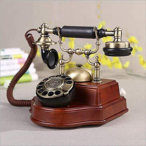ADSE Asiento de teléfono Fijo Creativo Antiguo de la Vendimia del hogar del teléfono Retro Europeo, a