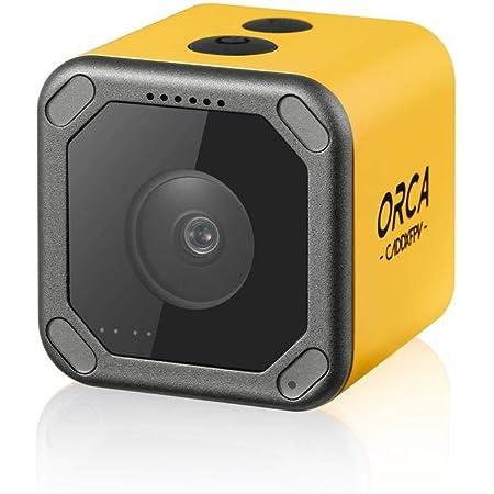 Caddx Orca 4Kアクションカメラ 2.7K60fps録画 手ぶれ補正 Mini FPVカメラ FOV160 WIFI機能 IP64防水仕様