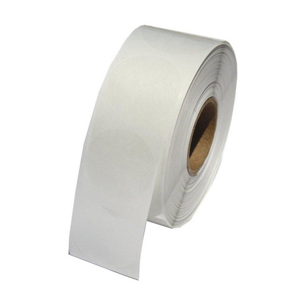 Hybsk Clear Seal Sticker Envelope Seals 1.5 inch Round Circle Wafer Labels (1.5 inch Round)