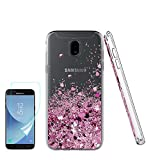 ATUMP Samsung Galaxy J3 2017 Case Glitter Liquid Slim Fit